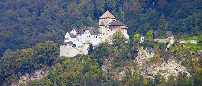 Le château de Vaduz, capitale du Liechtenstein.