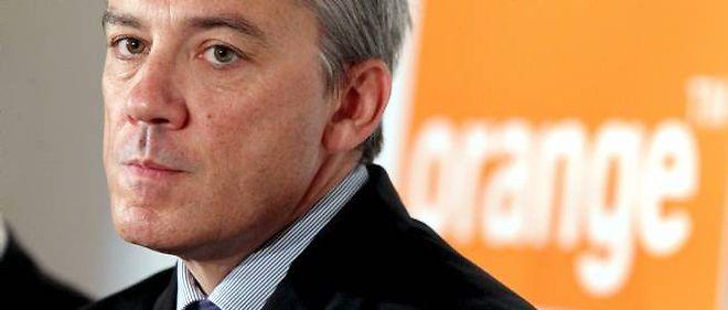 Stéphane Richard, numéro un d'Orange.