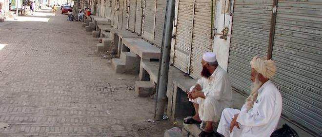 Miranshah, capitale du Nord-Waziristan en 2010.