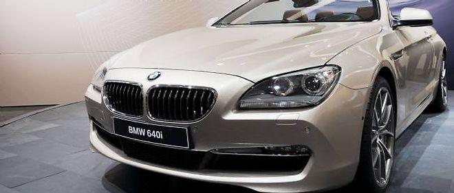 Un BMW Série 6.