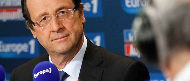François Hollande sur Europe 1, en 2011.