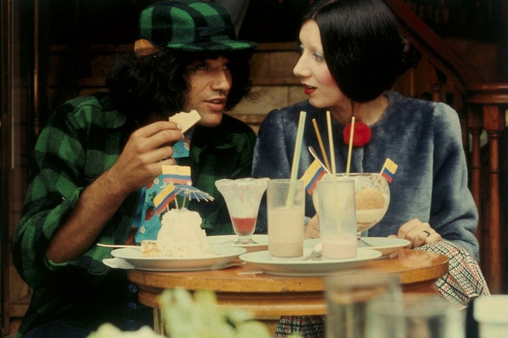 1970's. Bruce + Chantal Thomass = Love forever