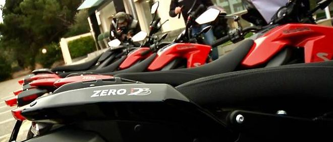 VIDEO. Zero moto, mention electro-geek