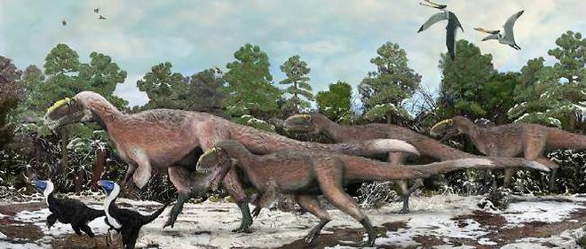 Le Yutyrannus Huali mesurait près de 9 mètres de long pour environ 1 400 kilos.