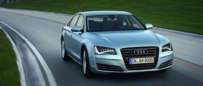 Des prestations de limousine, une énergie de V8 et une consommation de 4 cylindres, voilà la savante alchimie de l'A8 Hybrid.