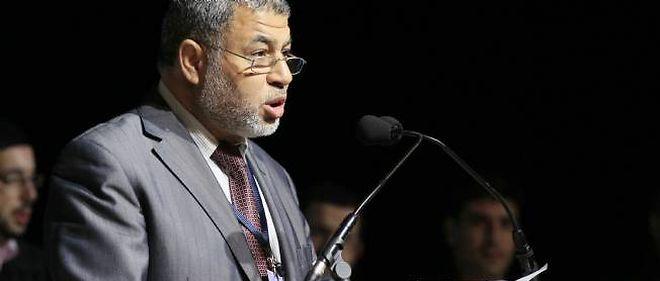 Ahmed Jaballah, président de l'Union des organisations islamiques de France, au Bourget, le 7 avril.