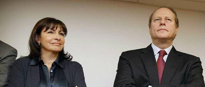 Anne Hidalgo et Philippe Goujon