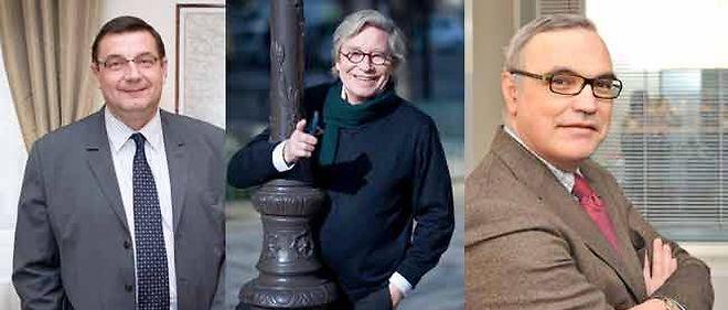 Jean-François Lamour, Alain Destrem et Daniel-Georges Courtois