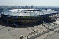 Le stade Metalist, à Kharkiv (Ukraine), un des stades où se déroulera l'Euro 2012 de football. ©Sergei Supinsky