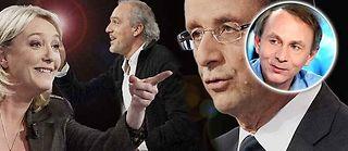 Michel Houellebecq parle des candidats aux éléctions présidentielle.
