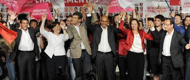 Les cadres du parti réunis à La Rochelle le 28 août 2011.