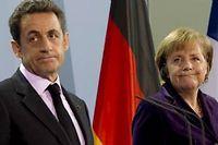 Nicolas Sarkozy devra convaincre Angela Merkel de prendre des initiatives de croissance et d'y impliquer la BCE. ©Sipa