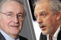 Jacques Cheminade et Philippe Poutou