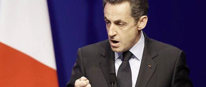 Nicolas Sarkozy à la Mutualité.