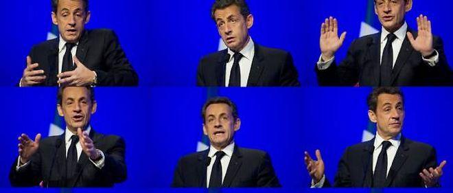 Dimanche, le discours de Nicolas Sarkozy sera retransmis sur écran géant dans les salles des meetings UMP.