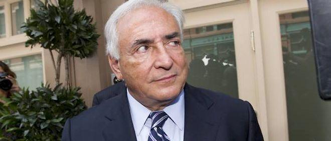 """Dominique Strauss-Kahn dément avoir donné une interview au """"Guardian""""."""