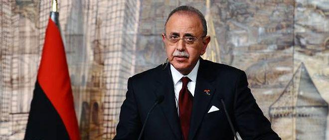Le Premier ministre libyen Abdel Rahim al-Kib
