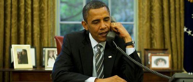 Photo d'illustration. Barack Obama dans le bureau ovale à la Maison-Blanche.