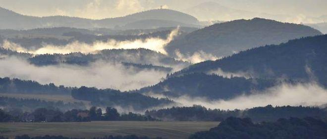 Vue des monts Métallifères.