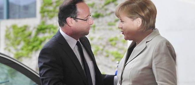 Première rencontre de François Hollande et de Angela Merkel (Berlin, 15 mai 2012)