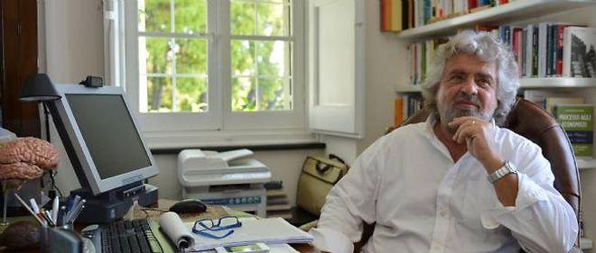 Beppe Grillo, l'humoriste politique.