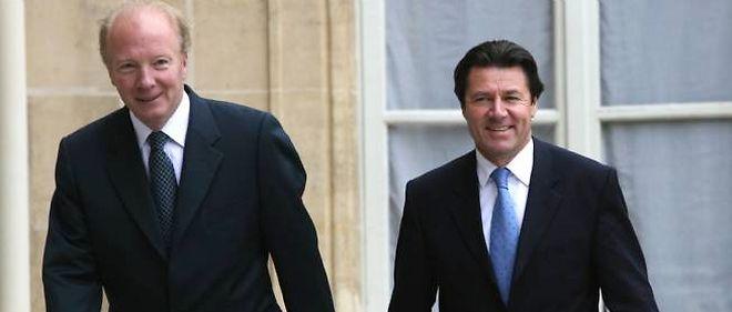 """Brice Hortefeux et Christian Estrosi lancent l'""""association des amis de Nicolas Sarkozy""""."""
