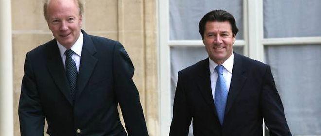 Brice Hortefeux et Christian Estrosi lancent l'Association des amis de Nicolas Sarkozy.