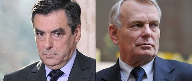 Francois Fillon et Jean-Marc Ayrault (montage Le Point.fr)