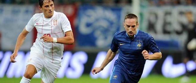 Laurent Blanc a mis en avant l'activité du trio Ribéry-Nasri-Benzema.