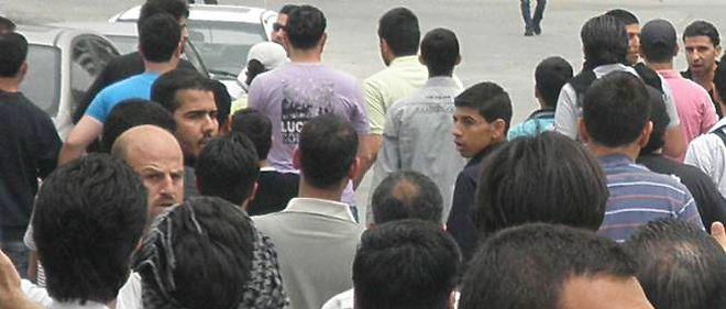 Manifestation anti-régime à Homs, le 30 avril 2012.