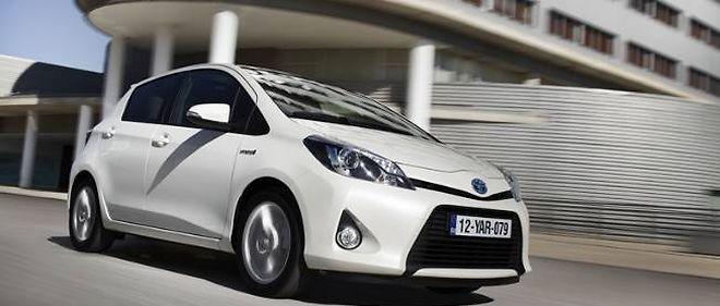 Avec la prime, Toyota propose la Yaris hybride à prix cassé