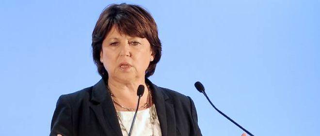 Martine Aubry a énuméré ce samedi les lignes d'action du gouvernement.