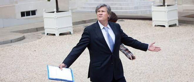 Stéphane Le Foll, ministre de l'Agriculture, candidat dans une circonscription de la Sarthe historiquement à droite.