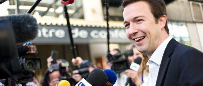 Guillaume Peltier, candidat UMP dans la 1re circonscription d'Indre-et-Loire, est arrivé en deuxième position derrière le candidat PS.