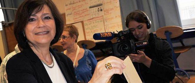 La ministre PS Marie-Arlette Carlotti a été élue députée avec près de 52 % des voix.