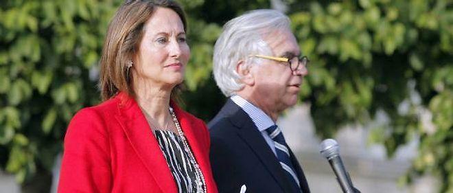 Ségolène Royal à La Rochelle, le 17 juin 2012