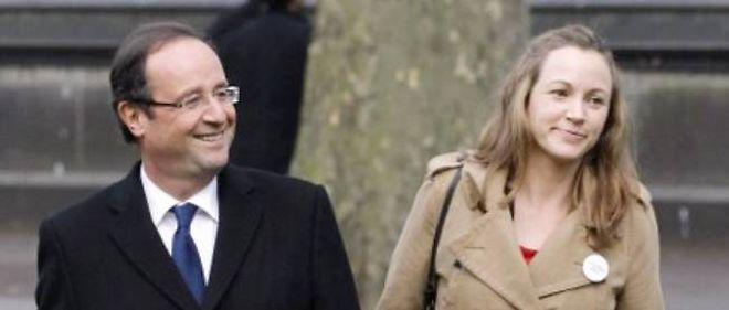 François Hollande et Axelle Lemaire, en campagne à Londres le 29 février dernier.