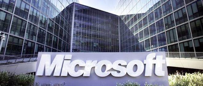 Le siège de Microsoft à Issy-les-Moulineaux (Hauts-de-Seine.