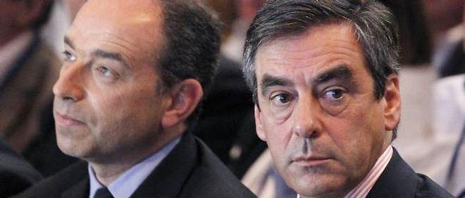 Jean-François Copé et François Fillon le 26 mai 2012.