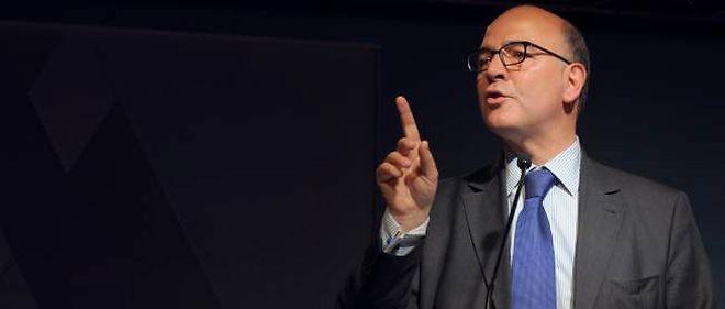 Pierre Moscovici, ministre de l'Économie et des Finances.