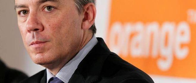 Stéphane Richard, patron d'Orange. © Meigneux / Sipa