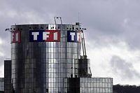 Le siège de la chapine TF1, à Boulogne-Billancourt. ©Joel Saget