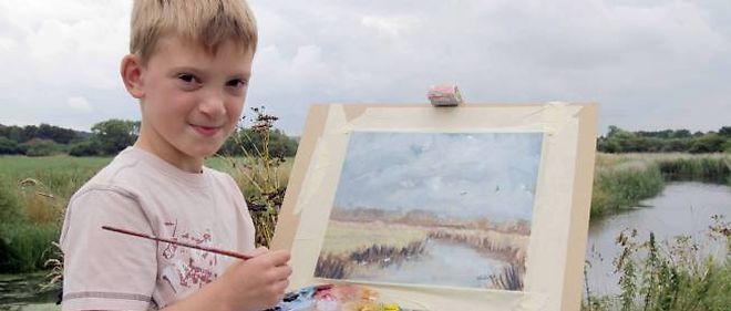Peintre Et Millionnaire à 9 Ans Le Point