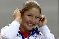 Céline Goberville a remporté la première médaille française de ces JO de Londres. ©Marwan Naamani