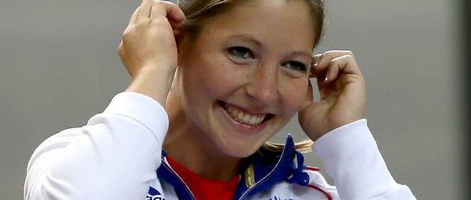 Céline Goberville a remporté la première médaille française de ces JO de Londres.