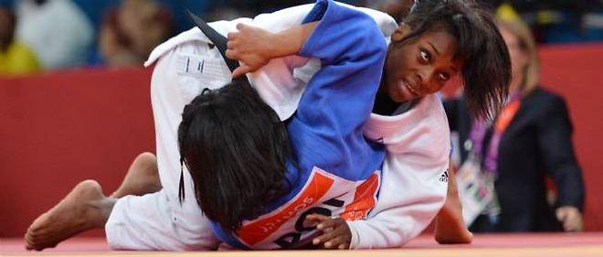 Priscilla Gneto est la benjamine de l'équipe de France de judo.
