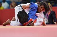 Priscilla Gneto est la benjamine de l'équipe de France de Judo. ©Johannes Eisele