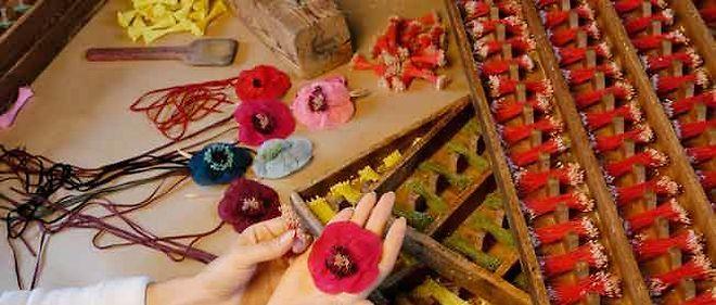 Le moulin de la Fleuristerie, dernier fabricant de fleurs artificielles.