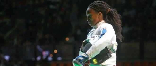 Laura Flessel a été éliminée en huitième de finale. Il s'agissait de ses derniers Jeux.