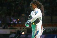 Laura Flessel a été éliminée en huitième de finale. Il s'agissait de ses derniers Jeux. ©Marcello Paternostro